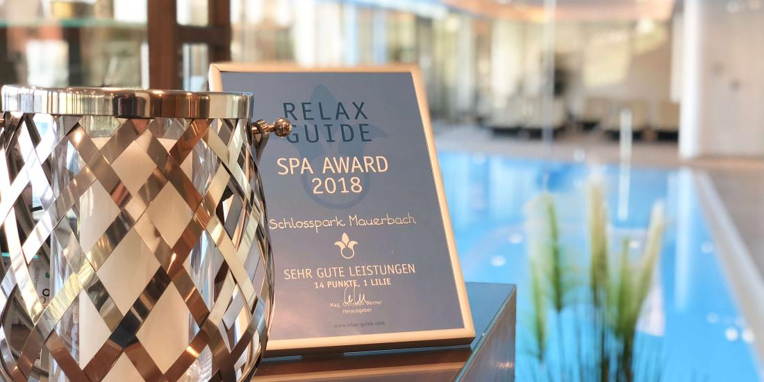 Relax Guide Award